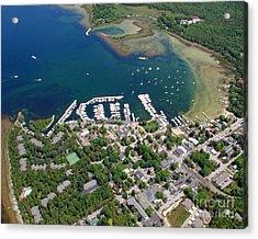F-001 Fish Creek And Harbor Door County Wisconsin Acrylic Print by Bill Lang