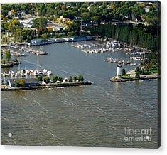 F-003 Fond Du Lac Wisconsin Harbor Acrylic Print