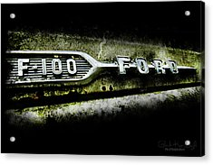 F-100 Ford Acrylic Print