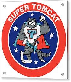 F-14 Super Tomcat Acrylic Print