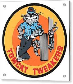 F-14 Tomcat Tweakers Acrylic Print