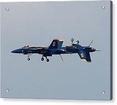 F/a 18 Hornet In Tandem Acrylic Print