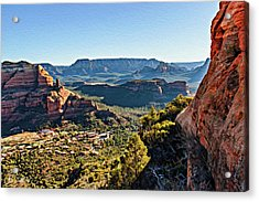 F And B Ridge 07-028 Acrylic Print