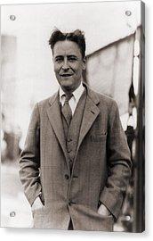 F. Scott Fitzgerald, 1896-1940 In 1928 Acrylic Print by Everett
