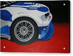 F1 Boston Bmw Acrylic Print by Ryan Flanagan
