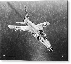 F11f Tiger  Acrylic Print