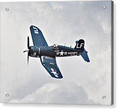 F4 Corsair Acrylic Print by Mark Weaver