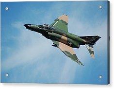 F4 Phantom Acrylic Print by Mark Weaver