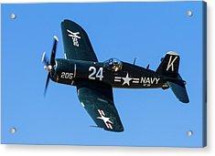 F4u Corsair 205 Acrylic Print