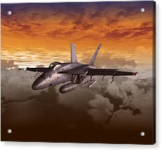Fa 18 Number21 Acrylic Print by Mike Ray