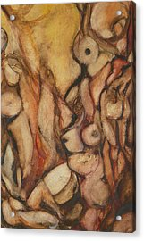 Fa Human Forest  Acrylic Print by Thierry-guenand   DAUGENN-