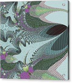 Fabric Sample Acrylic Print by Thomas Smith
