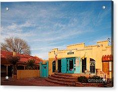 Facade Of A Souvenir Store At Old Town Albuquerque - New Mexico Acrylic Print