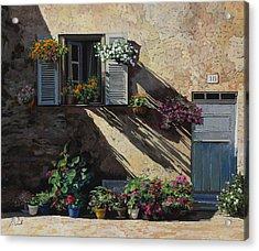 Facciata In Ombra Acrylic Print by Guido Borelli