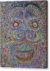Face 2 Acrylic Print by Dylan Chambers