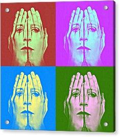 Face Art Acrylic Print