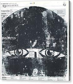 Face Covered Acrylic Print by Igor Kislev