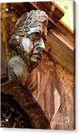Face In The Streets - Rovinj, Croatia Acrylic Print