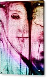 Face Melt Acrylic Print