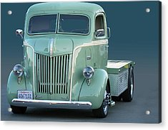 Face O Ford Coe Acrylic Print by Bill Dutting