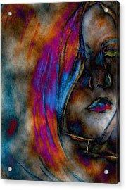 Face Of A Girl Acrylic Print