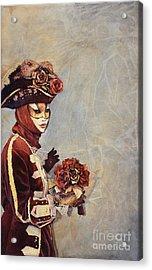 Face Of Carnivale- Italy Acrylic Print by Ryan Fox