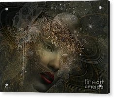 Face Of Space Acrylic Print