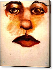 Face Off Acrylic Print