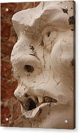 Face On San Trovaso Bell Tower Acrylic Print by Michael Henderson