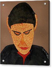 Face Acrylic Print by Umesh U V