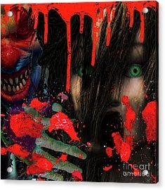 Face Your Fears Acrylic Print