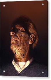 Faceplate Acrylic Print by Philip Straub