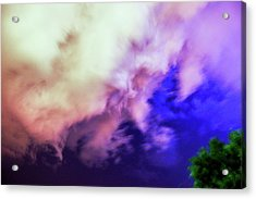 Faces In The Clouds 002 Acrylic Print