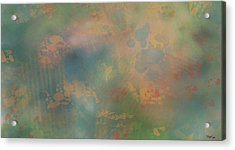 Faces In The Crowd Acrylic Print by Steven Powers SMP