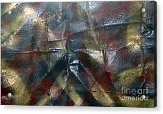 Facing Demons Of Demise Acrylic Print by Paula Andrea Pyle