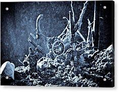 Facing The Enemy II Acrylic Print by Marc Garrido