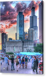 Fade In - Fade Out Acrylic Print
