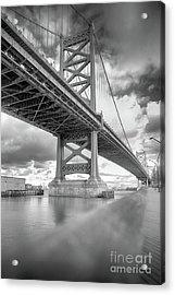 Fade To Bridge Acrylic Print
