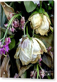 Faded Beauty Acrylic Print by Valerie Fuqua