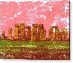 Faded Grandeur Acrylic Print by Jen White