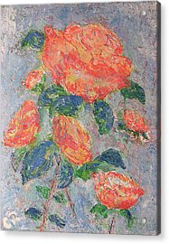 Faded Roses Acrylic Print by Chris Rice