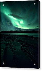 Faded Acrylic Print by Tor-Ivar Naess