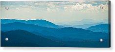 Fading Appalachians Acrylic Print