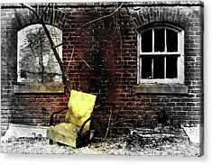 Acrylic Print featuring the photograph Fading Away by Jessica Brawley
