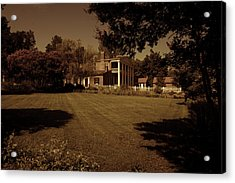 Acrylic Print featuring the photograph Fading Glory - The Hermitage by James L Bartlett
