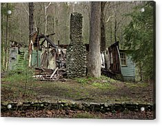 Acrylic Print featuring the photograph Fading Into Tomorrow by Mike Eingle
