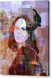 Fading Memory Acrylic Print by Robert Ball