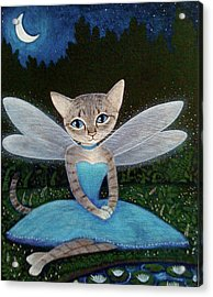 Fae Acrylic Print by Fairy Tails Portraits