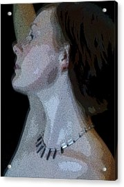 Faerie Queen Acrylic Print by John Bradburn