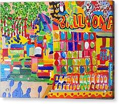 Fair Balloons Acrylic Print